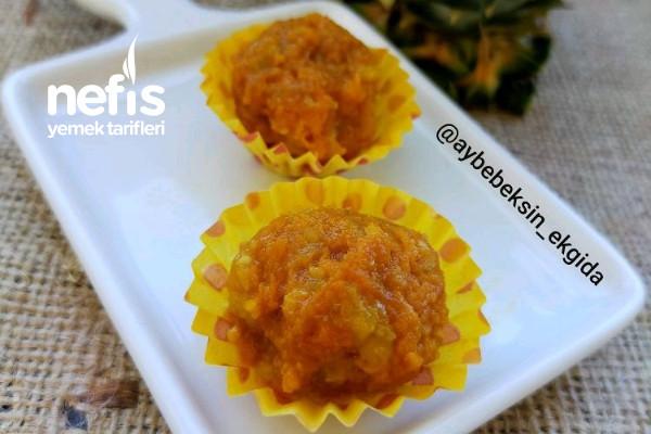 Ananaslı Havuç Topları (+8) Tarifi