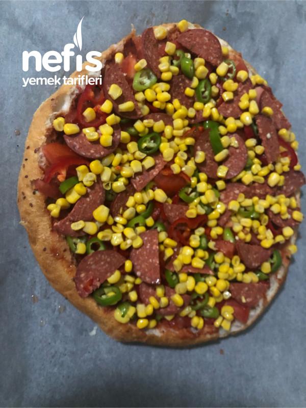 Bayat Ramazan Pidesinden Pizza