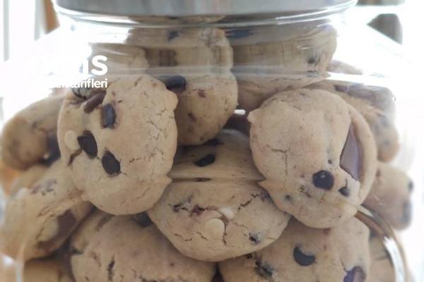 Çikolata Parçacıklı Cookie Tarifi