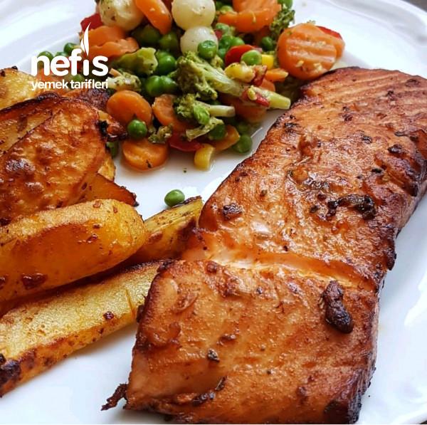 Fırında Somon Balığı