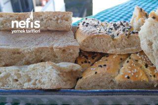 Tek Hamurla İki Çeşit Ekmek (Bazlama Ve Pide) Tarifi