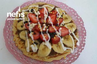 Tost Makinasında Waffle Tarifi