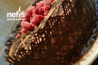 Dantel Kenar Yaş Pasta (Görsel Şölen) Tarifi