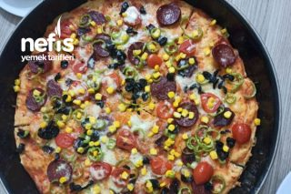 Harika Pizza Ev Yapımı Tarifi
