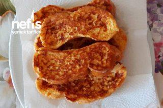 Kızarmış Yumurtalı Ekmek (Çok Hafif) Tarifi