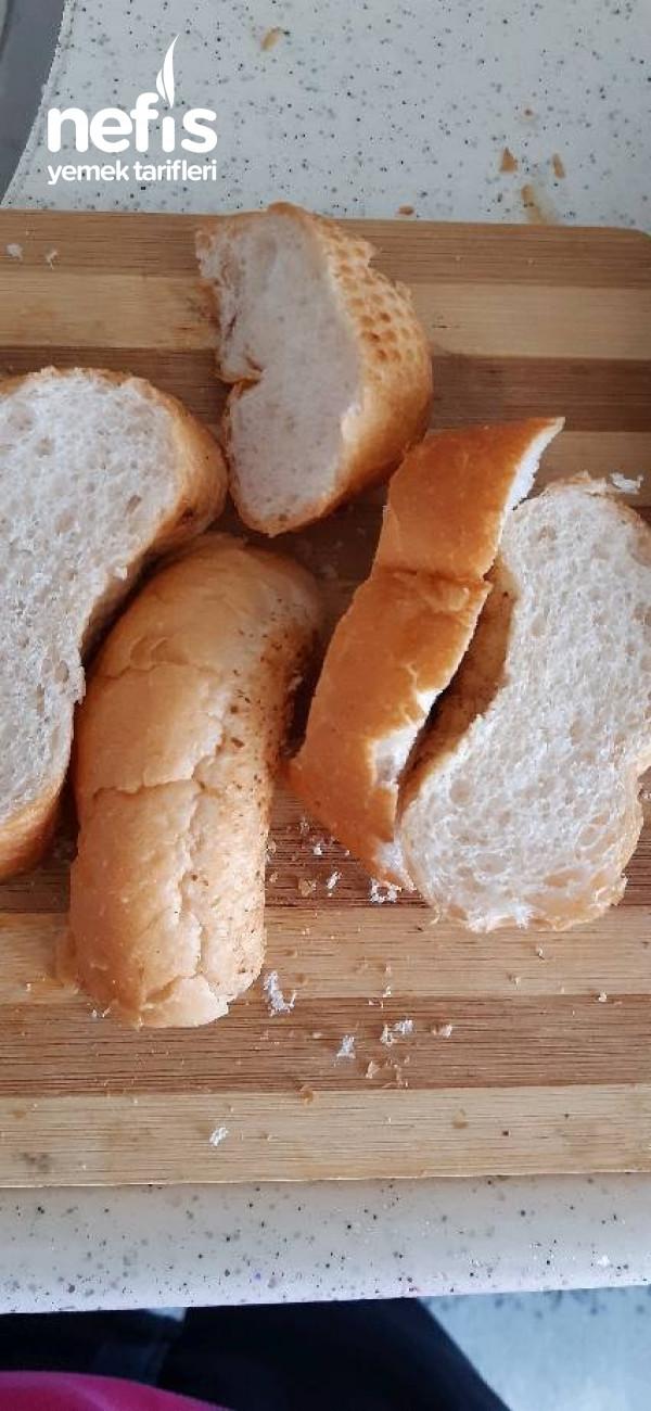 Kızarmış Yumurtalı Ekmek (Çok Hafif)