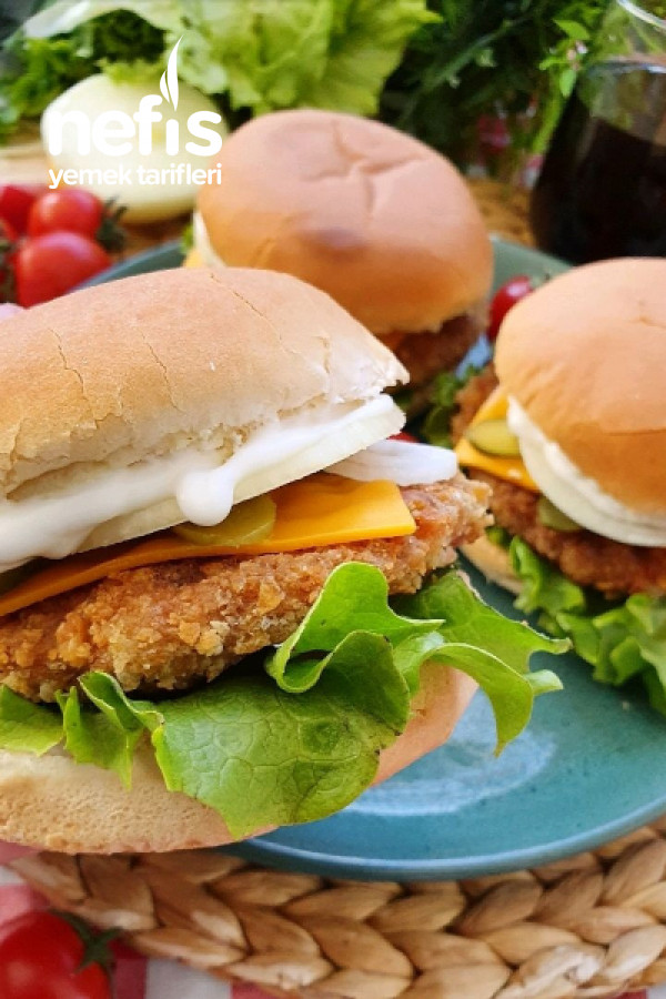 Çıtır Tavuk Burger