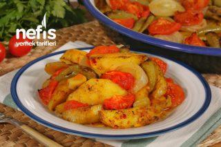 Pratik Fırında Patates Yemeği (videolu) Tarifi