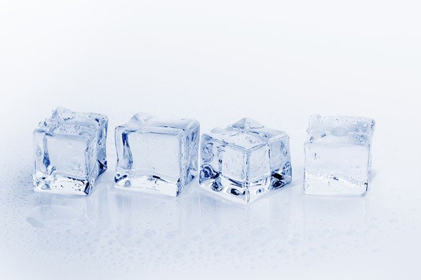 buz masajı