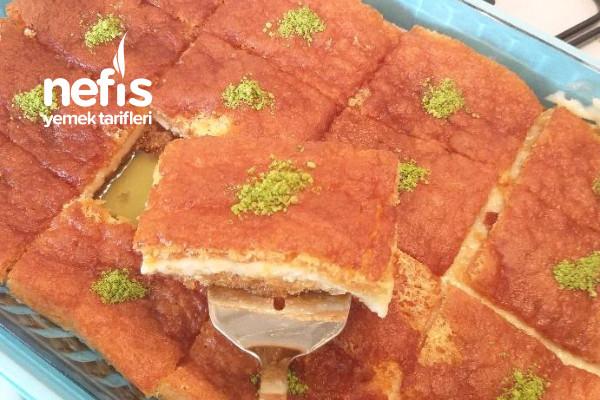 Ekmek Kadayıfı Tatlı Tarifi