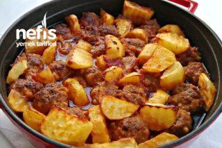 Fırında Patates Köfte (Videolu) Tarifi