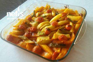 Fırında Patates Yemeği (İftar Menüsü) Tarifi