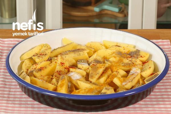 Pratik Fırında Patates Yemeği