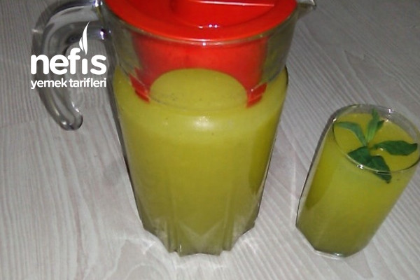 Buz Gibi Ev Yapımı Limonata