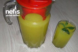 Buz Gibi Ev Yapımı Limonata Tarifi