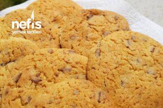 Çikolatalı Cookies (Çikolatalı Kurabiye) Tarifi