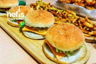 Evde Hamburger Yapımı (Burger Buff Tadında) Tarifi