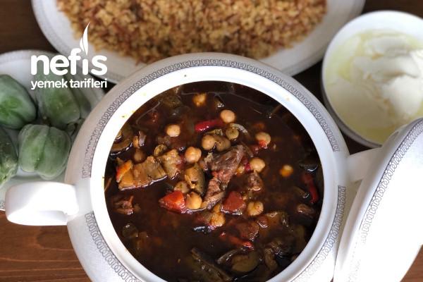 Gaziantep Patlıcan Doğrama Tarifi