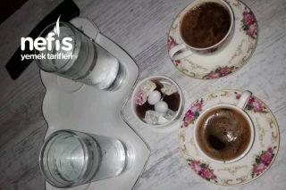 Güllü Türk Kahvem (Bir Yudum Aşk) Tarifi