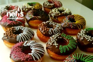Tam Ölçülü Nefis Lezzet Donut Tarifi