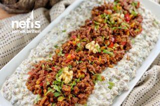 Yeşil Mercimekli Doyuran Salata Tarifi
