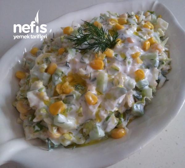 Aysberk Salata (Aynı Tür Salatalardan Sıkılanlara)