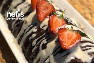 Beyaz Çikolata Soslu Mozaik Pasta Tarifi