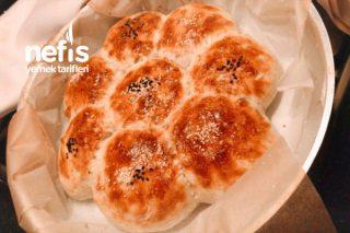 Çiçek Ekmek (Ramazan Pidesi Yumurtalı) Tarifi