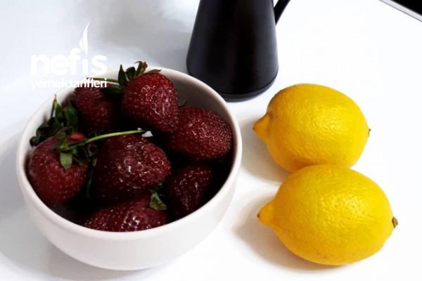 Çilekli Limonata (Tam Ölçülü)