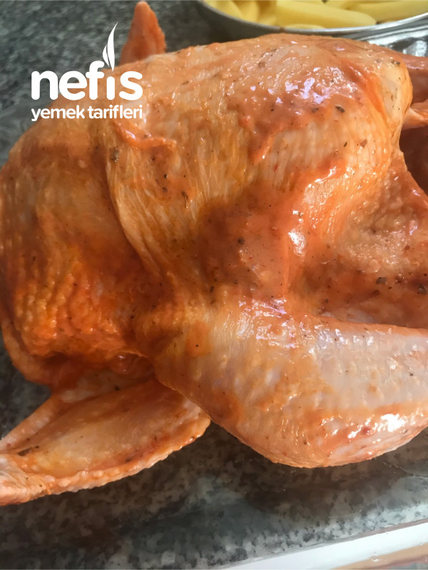 Fırında Enfes Tavuk