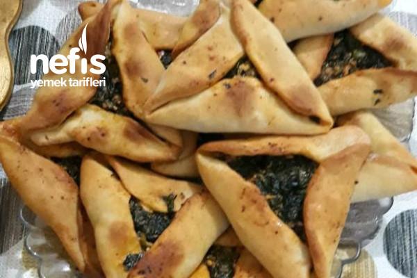 Taş Fırını Lezzetinde Üçgen Ispanaklı Börek Tarifi