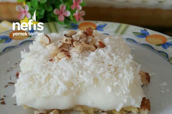 Çok Hafif Süt Şerbetli Tatlı (Gelin Pastası)