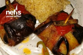 Çöp Patlıcan Kebabı Tarifi