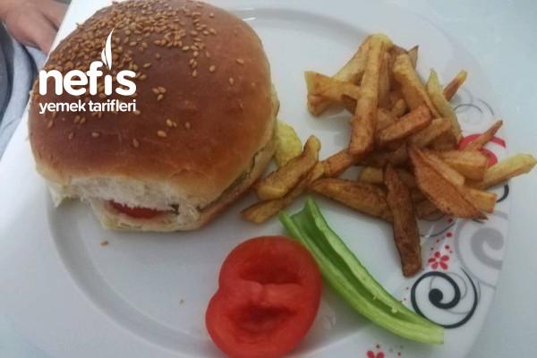 Gerçek Hamburger Ekmeği (En Lezzetlisi)