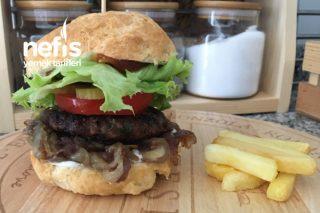 Hamburger (Her şeyiyle ev yapımı) Tarifi