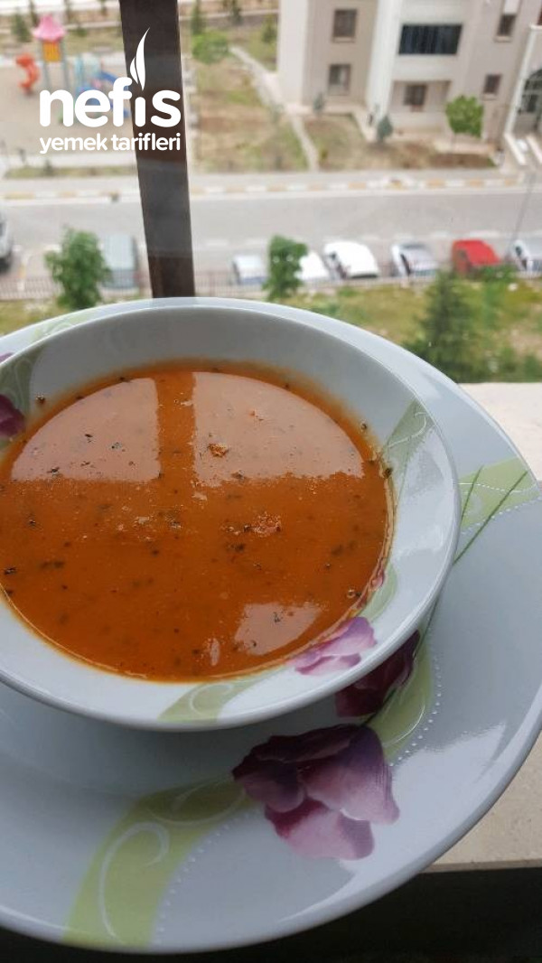 KÖZ (domates,soğan,sarımsak) ÇORBASI
