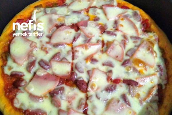 Küçük Boy Pizza Tarifi