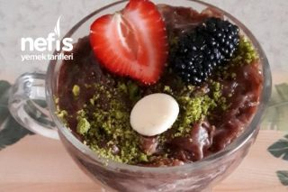 Kupta Çikolatalı Güllaç (4 Adet) Tarifi