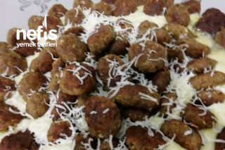 Nefis Patates Püresinde Mini Köfte Tarifi