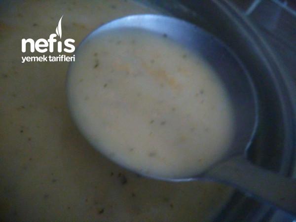 Patates Çorbası (Terbiyeli)