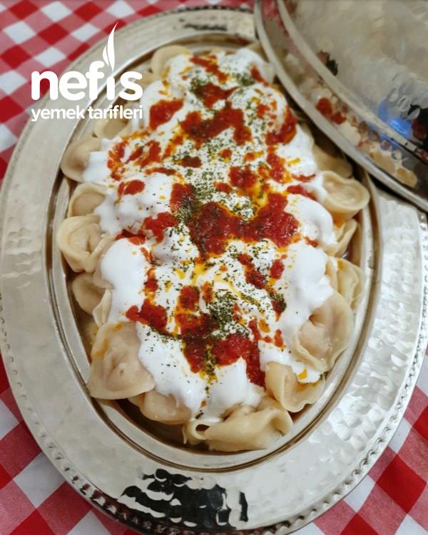 Patatesli Türk Ravıolesı(mantısı)
