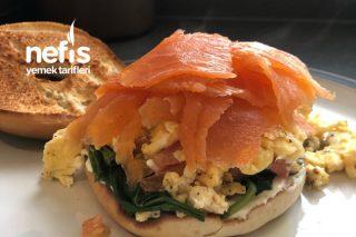 Smoked Salmon Bagel – Somon Füme Sandviç Tarifi