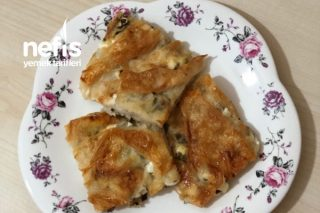 Sodalı Peynirli Maydanoz Börek Tarifi