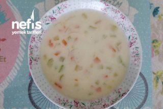 Sütlü Kremalı Sebze Çorbası Tarifi