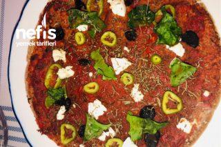 Diyet Pizza Tarifi