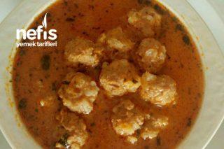 Pirinçli Sulu Köfte Çorbası Tarifi