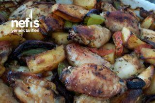 Sebzeli Tavuk Kanadı Tarifi