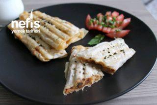 Tembel Böreği (Tost Makinesinde) Tarifi