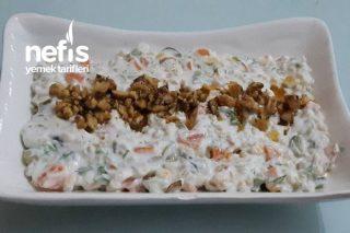 Buğdaylı Karışık Salata Tarifi