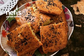 Dereotlu Peynirli Tuzlu Kek Tarifi